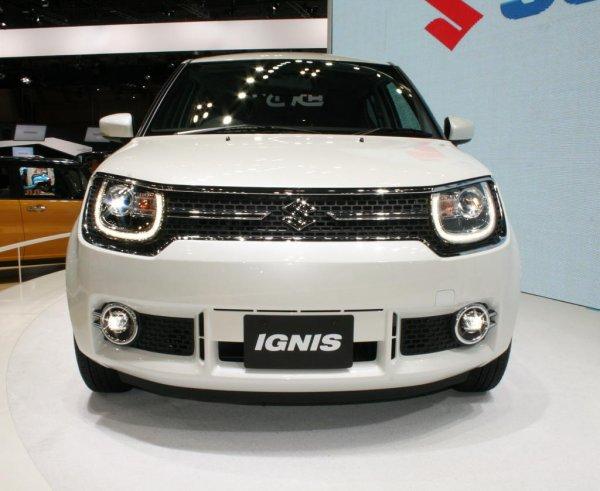 Компания Suzuki представила свой новый автомобиль Ignis