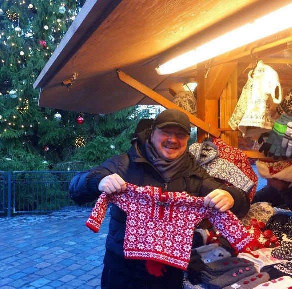 Игорь Николаев показал свои покупки в Таллине
