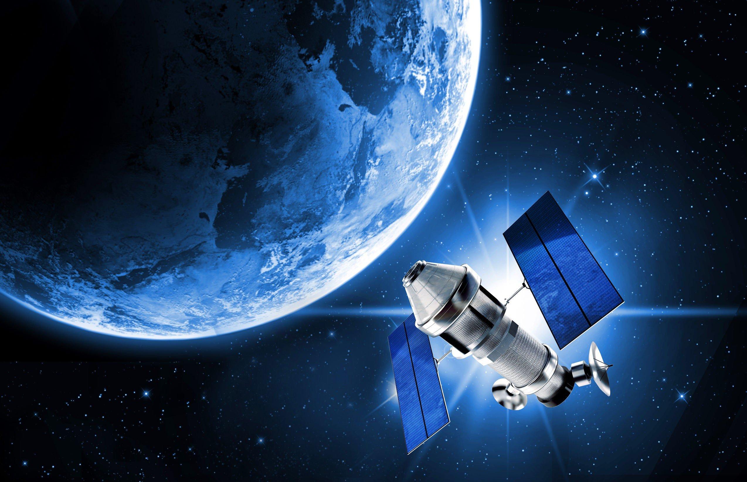 Сколько спутников в космосе 2018
