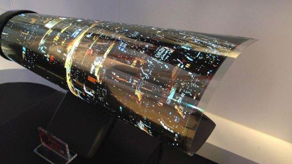 В Японии разработали технологию гибких OLED-экранов