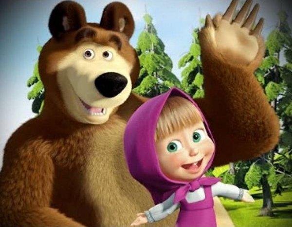 """Ученые: У героини """"Маши и Медведь"""" проблемы с психикой"""