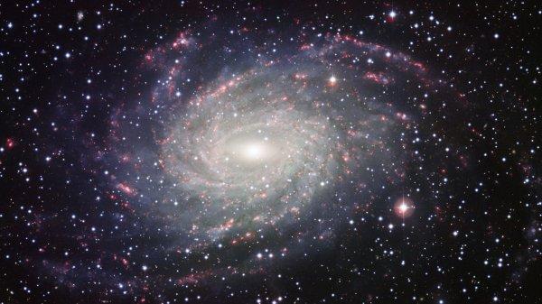 NASA открыли галактику с синими звездами
