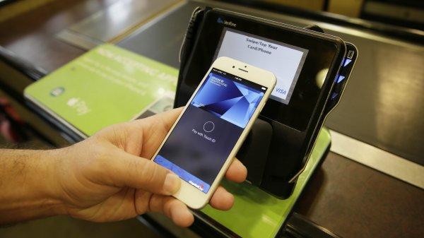 Популярность Apple Pay в США неуклонно растет