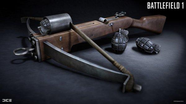 Фанаты Battlefield 1 рассказали о новом игровом оружии