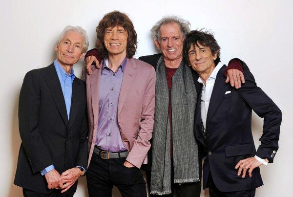 Новый альбом The Rolling Stones возглавил рейтинг продаж в Британии