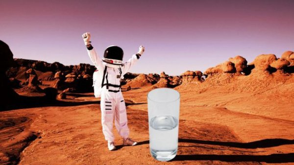Ученые определили вкус воды на Марсе