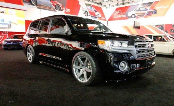 Внедорожник Toyota Land Cruiser стал самым мощным в мире