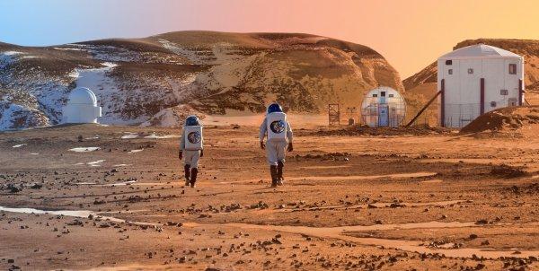 NASA проводит репетиции высадки людей на Марс
