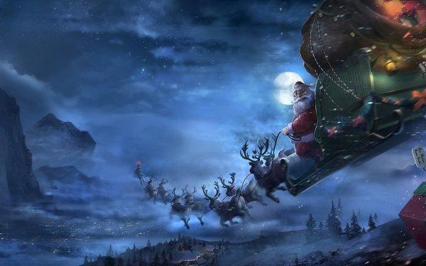 Ученые-физики объяснили, почему Санта-Клаус не стареет