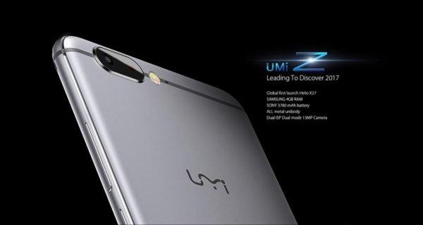 Смартфон Umi Z получил 10-ти ядерный процессор