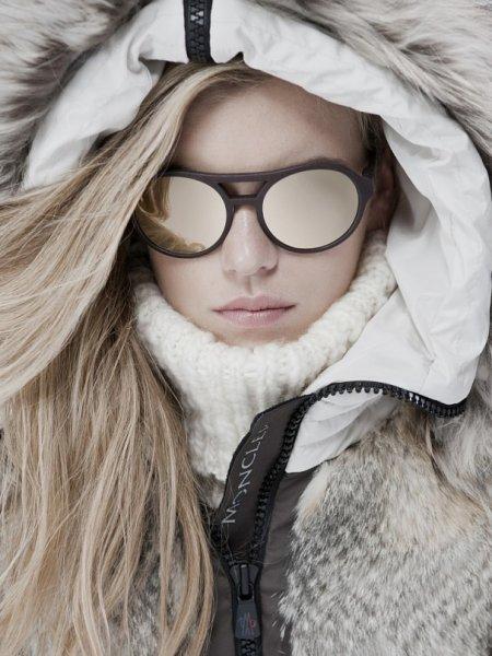 В снежный период необходимо носить солнцезащитные очки