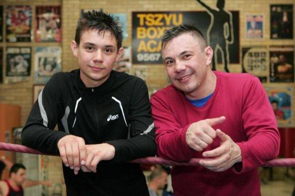 Сын Кости Цзю победил в первом для себя профессиональном боксерском поединке