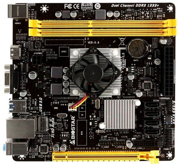 Biostar выпустила Mini-ITX платы A68N-5745 и A68N-5545