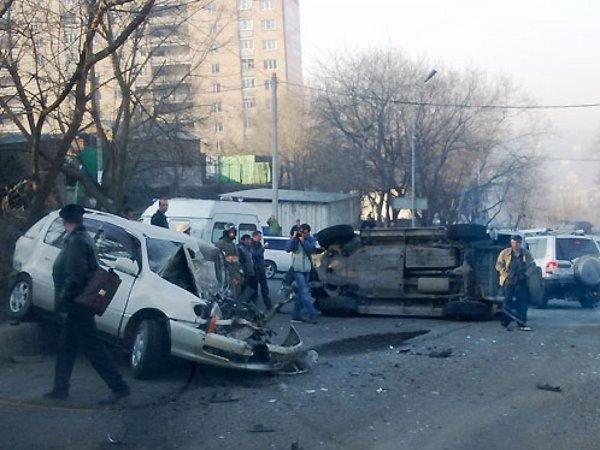 В Ижевске из-за пьяного шофера произошла массовая авария