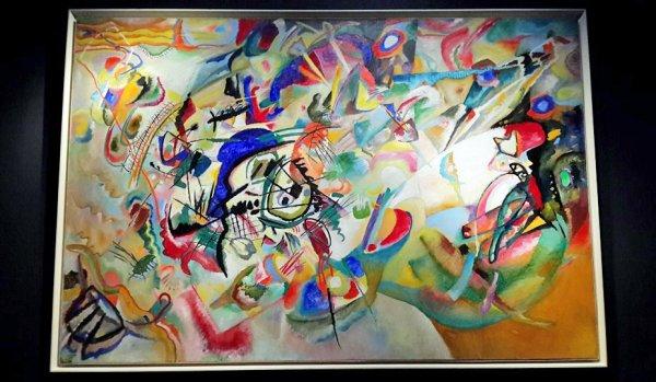 В музее имени Пушкина открывается выставка Кандинского «Багатели»