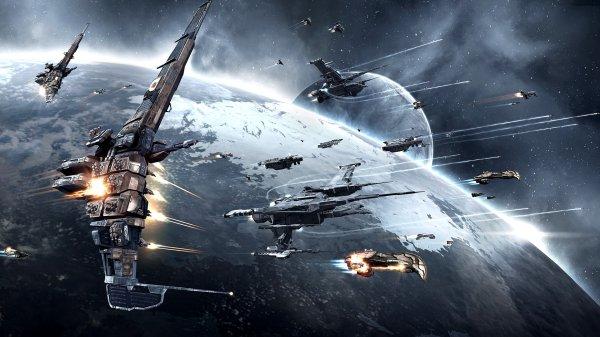 Крупнейшая битва в истории Eve Online собрала 5337 игроков