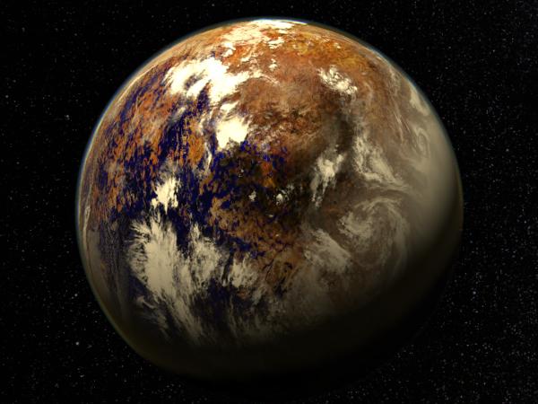 Астроном назвал планету с облаками и растениями