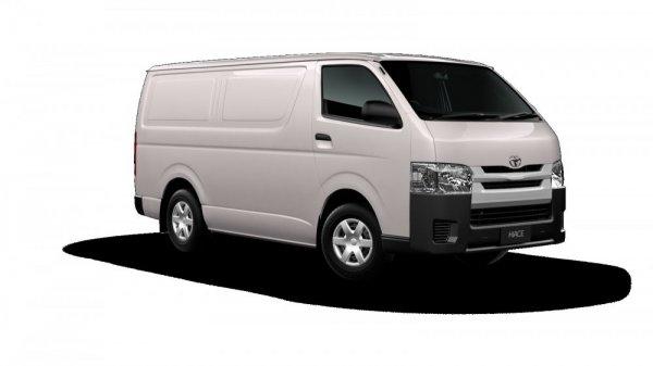 Toyota в 2018 выпустит новый микроавтобус HiAce с полукапотной компоновкой