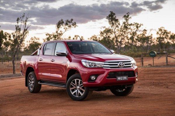 В России на рынке подержанных пикапов лидирует Toyota Hilux