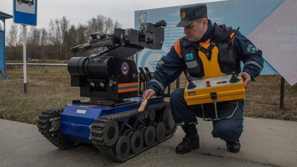 Российские инженеры создали робота, распознающего радиацию