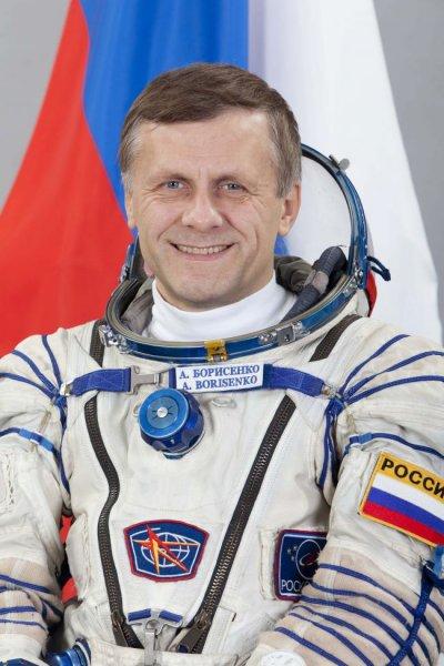 Андрей Борисенко поздравил жителей Петербурга с Новым годом с МКС
