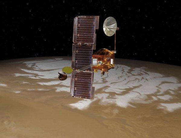 Mars Odyssey Orbiter восстанавливается после длительного перерыва