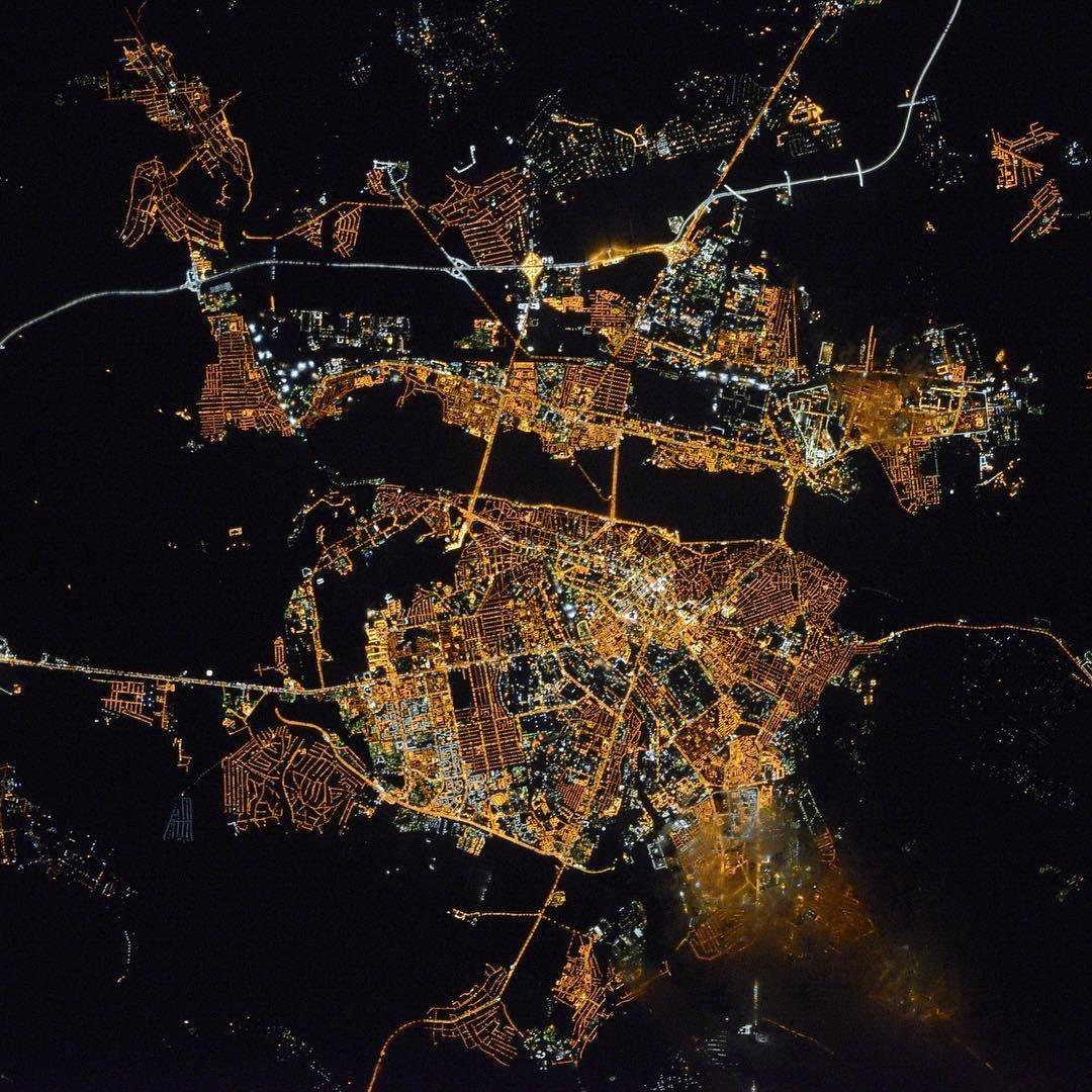 Фото липецкая из космоса