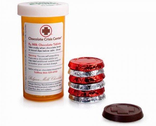 Учёные: Шоколадные таблетки спасут от инфаркта и инсульта