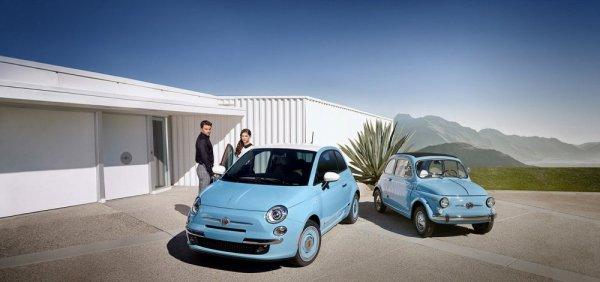 Хэтчбек Fiat 500  в 2019 году станет пятидверным