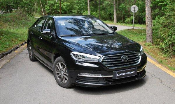 Седан Lifan 820 появится на рынке России