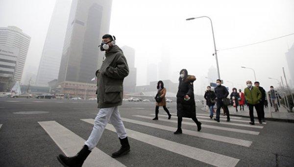 Учёные выяснили, почему над Пекином стоит «вечный» смог