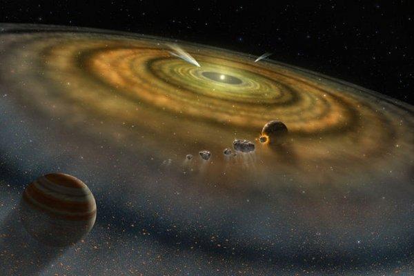 Hubble обнаружил «рой» комет, падающих на звезду