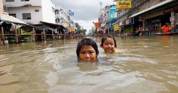 Туристические зоны Таиланда не пострадали от последствий наводнения