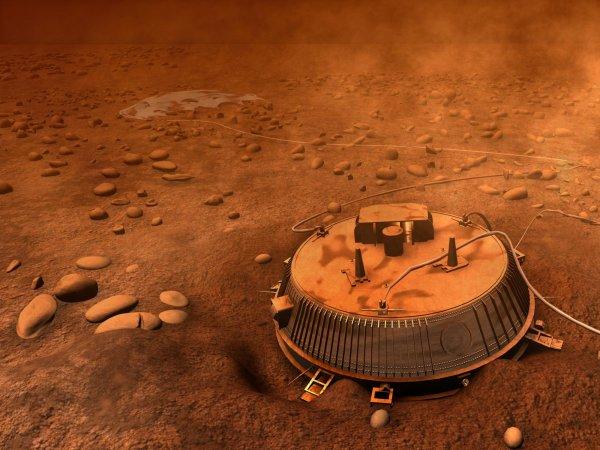 NASA опубликовало видео посадки аппарата Huygens на спутник Сатурна