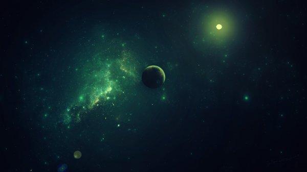 Зеленое сияние галактик привлекло внимание ученых