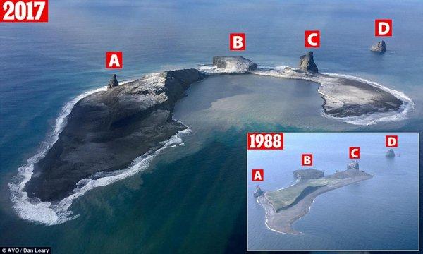 Ученые выяснили, как вулканы изменили Аляску за два десятилетия