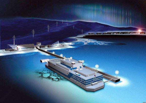 Россия запустит первую в мире плавучую атомную электростанцию