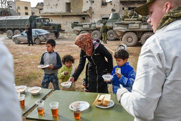 Минобороны РФ упрекает международные правозащитные организации за бездействие в Алеппо