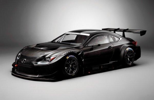 Lexus подготовила новый болид RC F GT3 для участия в гонках