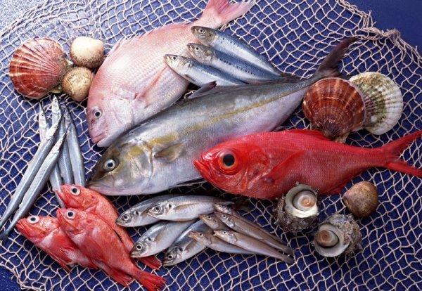 Европейцы увеличили количество рыбы в своем рационе