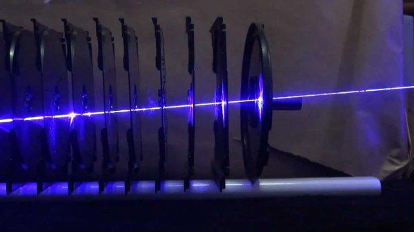 В Китае построили самый мощный в мире лазер на свободных электронах