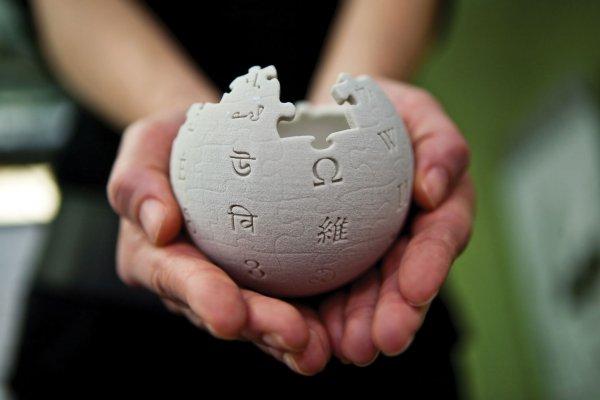 Сегодня Википедия празднует день рождения