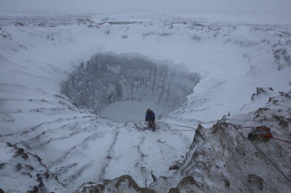 Ученые из России и Франции исследуют карстовые озера