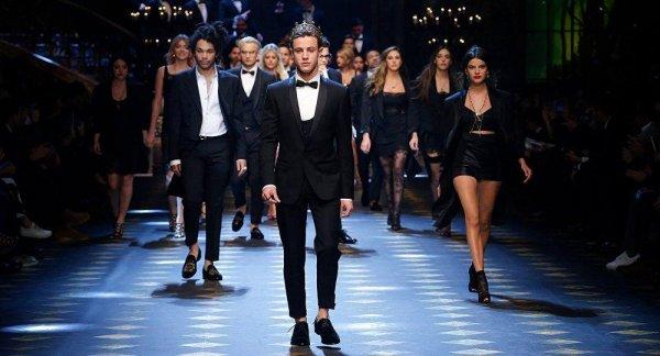 Новую коллекцию Dolce&Gabbana презентовали дети американских звезд