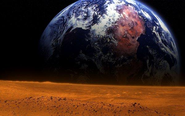 Земные микроорганизмы могут выжить на Марсе