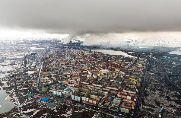 """На панорамах """"Яндекса"""" Мурманск больше не самый северный город"""