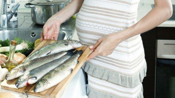 Ученые рекамедуют беременным женщинам употреблять больше морепродуктов
