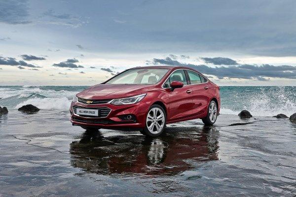 В Южной Корее презентовали новый Chevrolet Cruze
