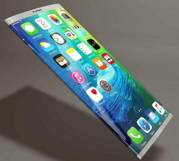 Apple выпустит iPhone X с обернутым вокруг корпуса экраном