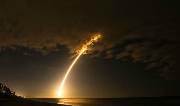 В США стартовала ракета Atlas V со спутником GEO-3